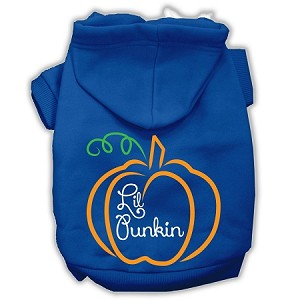 Lil Punkin Screenprint Hoodie Blue XXXL