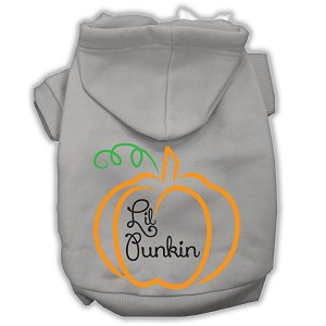 Lil Punkin Screenprint Hoodie Grey XXXL(20)