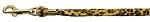 Animal Print Leash Leopard 3/8 Plain Leash