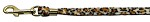 Animal Print Leash Jaguar 3/8 Jwl Leash