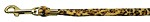 Animal Print Leash Leopard 3/8 Jwl Leash