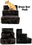 Brown Bear Plush Pet Steps