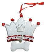 Paw Crown Christmas Ornament