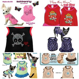 Pet Flys Apparel Clearance Lot <br> $500 wholesale lot for $250 <br>Retail value over $1000!