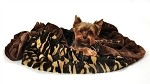 Camo 1/2 Size  Pet Blanket