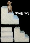 Shaggy Ivory Pet Steps