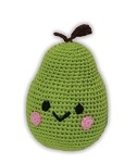 Knit Knacks Bartlett Pear Organic Cotton Small Dog Toy