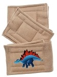 Peter Pads Tan Size MD Dinosaur 3 Pack