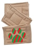 Peter Pads Tan Size XS Christmas Paw 3 Pack