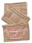 Peter Pads Tan Size XS Holly N Jolly 3 Pack