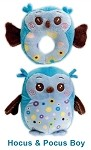 Owl Boy Pet Toy Set