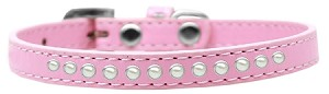 Pearl Size 16 Light Pink Puppy Collar