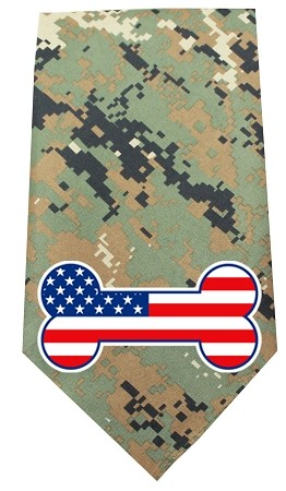 America Bone Flag Screen Print Bandana Digital Camo