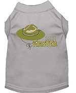 Scout Master Embroidered Dog Shirt Grey Sm (10)