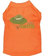 Scout Master Embroidered Dog Shirt Orange Sm (10)