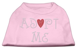 Adopt Me Rhinestone Shirt Light Pink XS