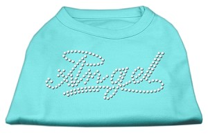 Angel Rhinestud Shirt Aqua XL (16)