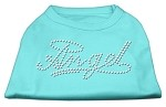 Angel Rhinestud Shirt Aqua XS (8)
