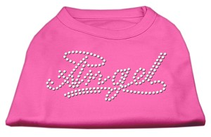Angel Rhinestud Shirt Bright Pink M (12)
