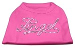 Angel Rhinestud Shirt Bright Pink XS (8)