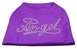 Angel Rhinestud Shirt Purple XS (8)