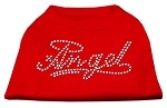 Angel Rhinestud Shirt Red XS (8)
