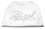 Angel Rhinestud Shirt White XS (8)
