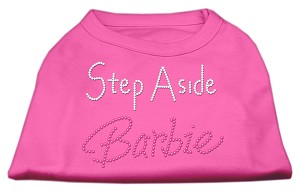 Step Aside Barbie Shirts Bright Pink S (10)