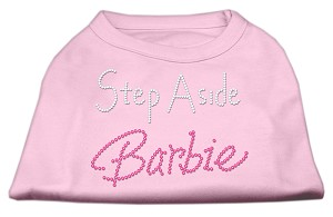 Step Aside Barbie Shirts Light Pink XXL (18)