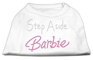 Step Aside Barbie Shirts White XS (8)