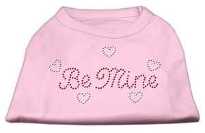 Be Mine Rhinestone Shirts Light Pink XXL (18)