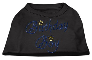 Birthday Boy Rhinestone Shirts Black M (12)