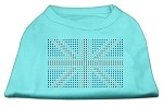 British Flag Shirts Aqua XS