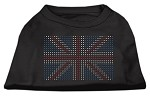 British Flag Shirts Black XS