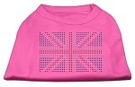 British Flag Shirts Bright Pink XS