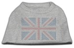 British Flag Shirts Grey XS