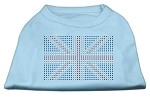 British Flag Shirts Baby Blue XS