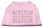 British Flag Shirts Light Pink XS