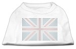 British Flag Shirts White XS