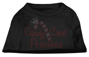 Candy Cane Princess Shirt Black XS (8)