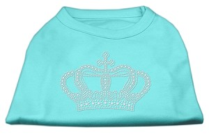 Rhinestone Crown Shirts Aqua XXXL (20)