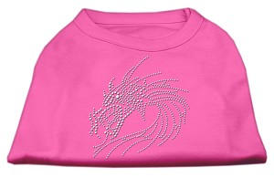Studded Dragon Shirts Bright Pink XS