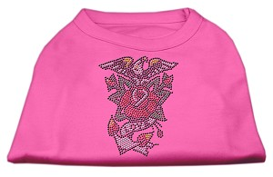 Eagle Rose Nailhead Shirts Bright Pink L (14)