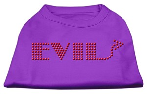 Evil Rhinestone Shirts Purple XL (16)
