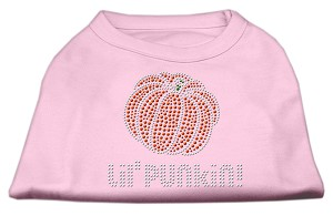 Lil' Punkin' Rhinestone Shirts Light Pink XL (16)