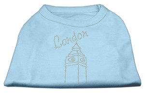 London Rhinestone Shirts Baby Blue M (12)