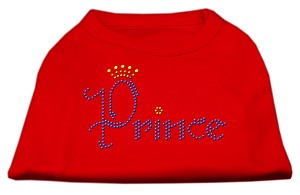 Prince Rhinestone Shirts Red M (12)