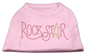 RockStar Rhinestone Shirts Light Pink L (14)