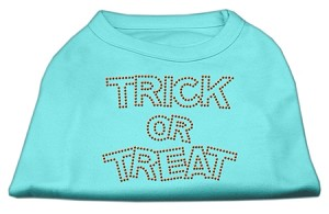 Trick or Treat Rhinestone Shirts Aqua M (12)