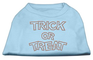 Trick or Treat Rhinestone Shirts Baby Blue M (12)